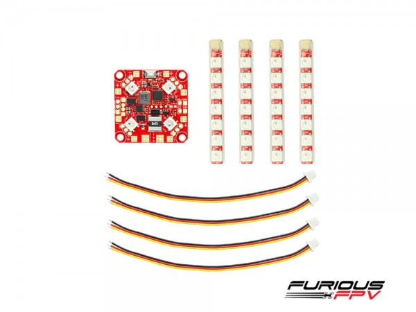 Furious FPV Lightning PDB Single Row LED Strip Top Set