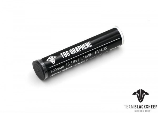 Team BlackSheep TBS Graphene 300mAh 1S HV Whoop Akku