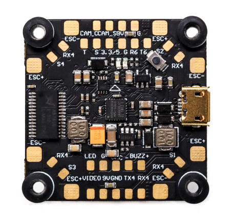 Bardwell F4 Flight Controller AIO FC + OSD Connection Main