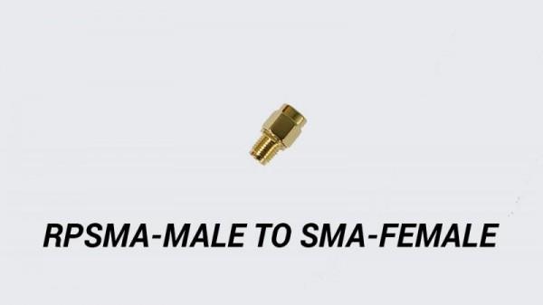 RP SMA Male zu SMA Female Adapter
