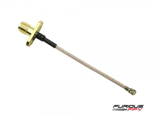 Furious FPV 72mm U.FL zu SMA Kabel Seite