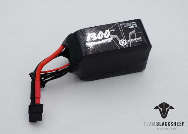 Team BlackSheep TBS Graphene 1300mAh 6S 75C 22,2V