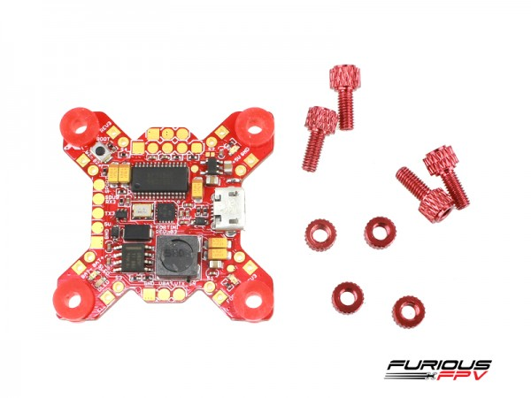 Furious FPV Fortini F4 OSD 32 Khz Flight Controller Rev.2 Main
