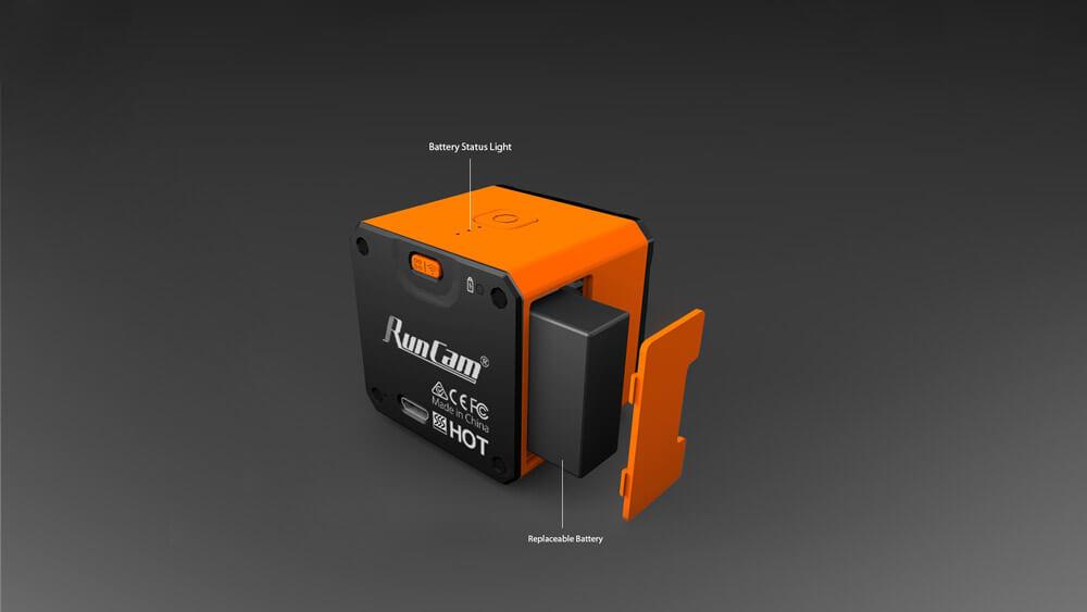 RunCam-3S-Batteriefach