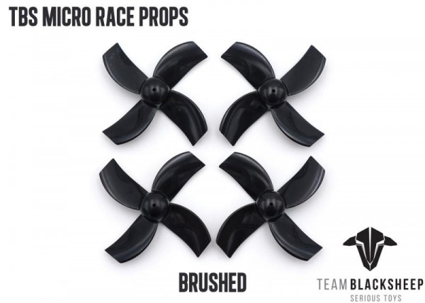 TBS Micro Tiny Whoop Props Black