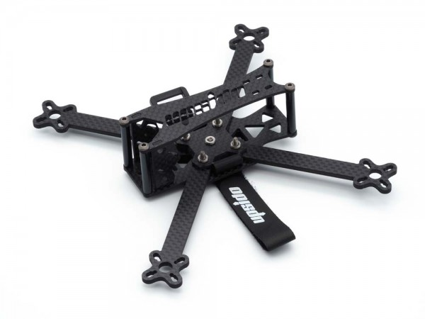 Upsido Spatz 4 Zoll True-X Frame Angled Front